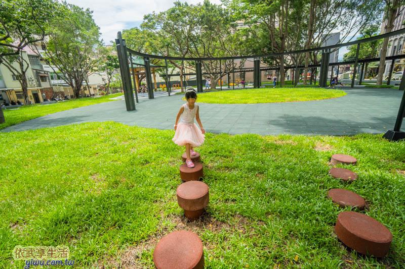 新竹民族公園跳跳板遊戲區