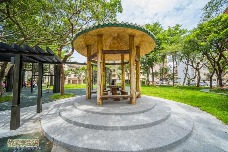 新竹民族公園涼亭