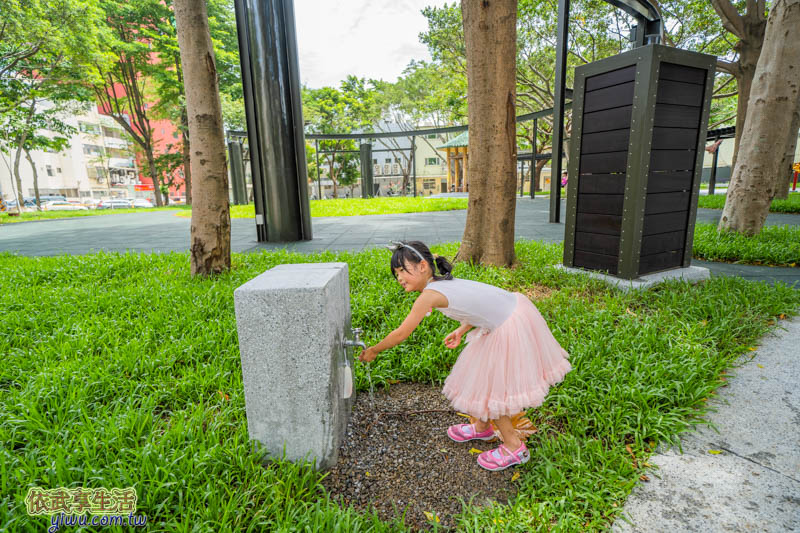 新竹民族公園洗手台
