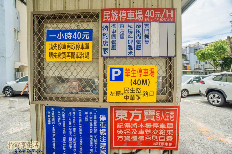 新竹民族公園民族停車場