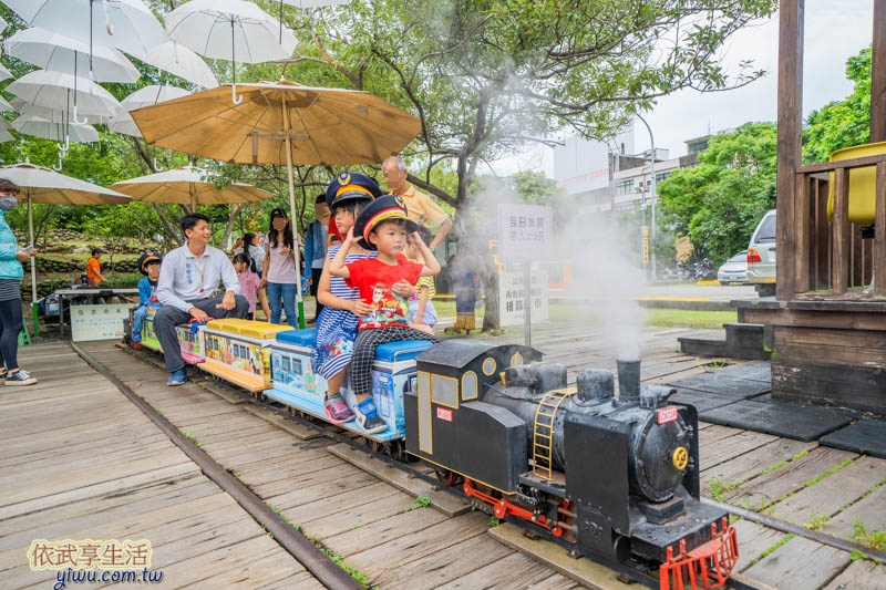 新竹內灣合興車站小火車