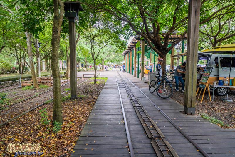 新竹內灣合興車站攤販