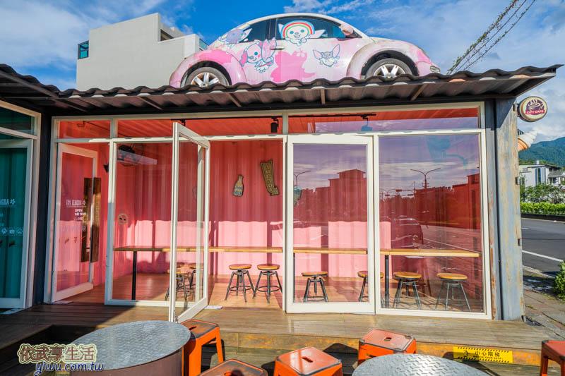 7-11騰達門市彩色貨櫃屋