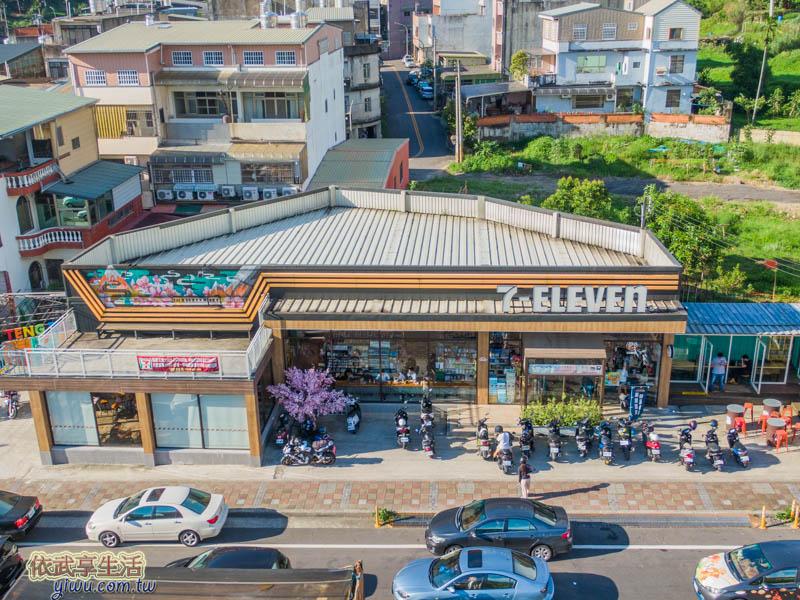 7-11騰達門市景觀台