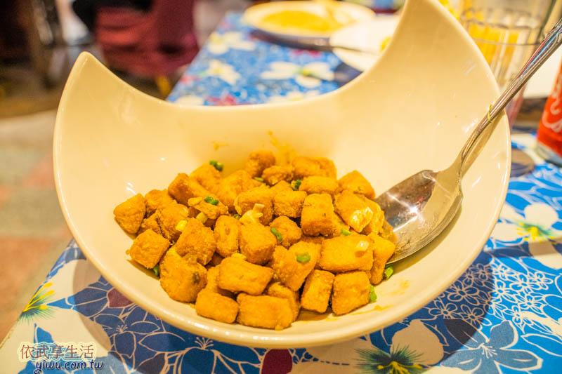 風城之月金銀蛋豆腐