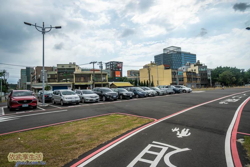 新竹水道取水口停車場