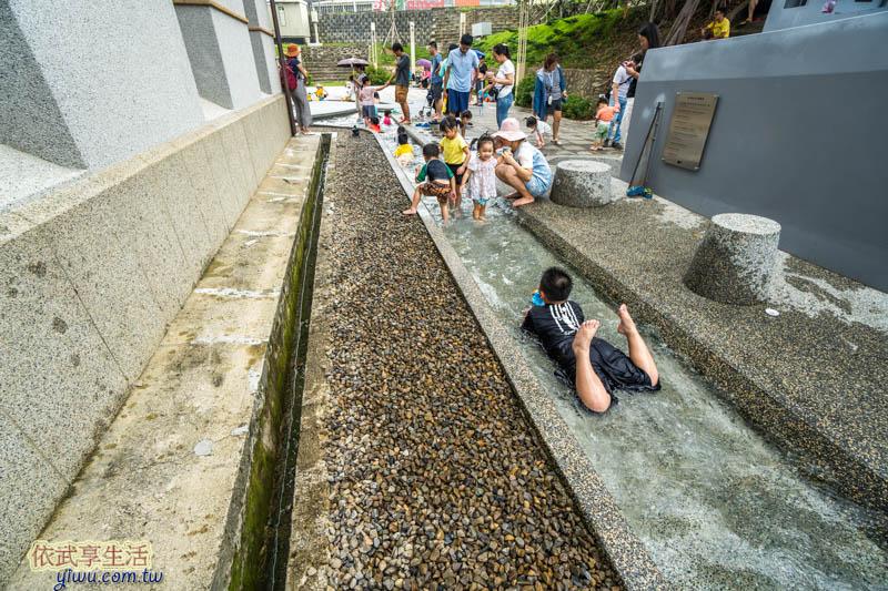 新竹水道取水口戲水池
