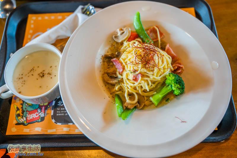 北埔印象咖啡民宿餐點