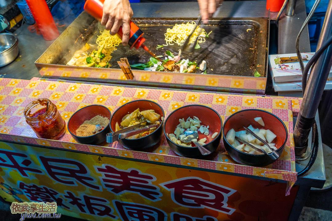 中原夜市香腸炒米腸
