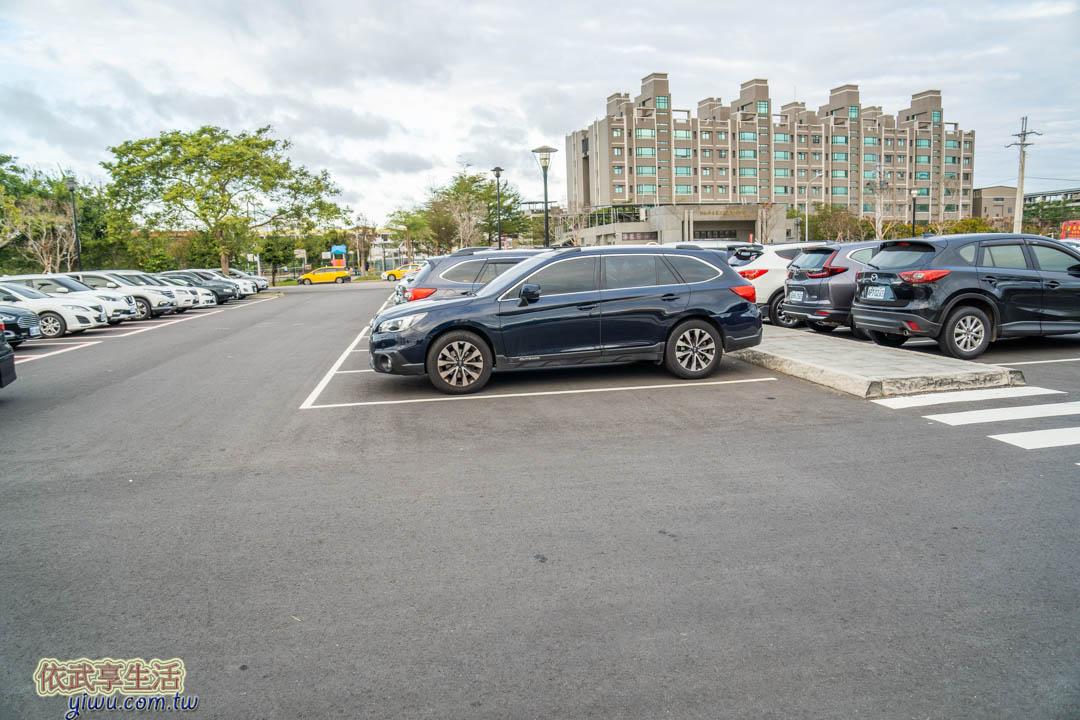 獅山親子公園停車場