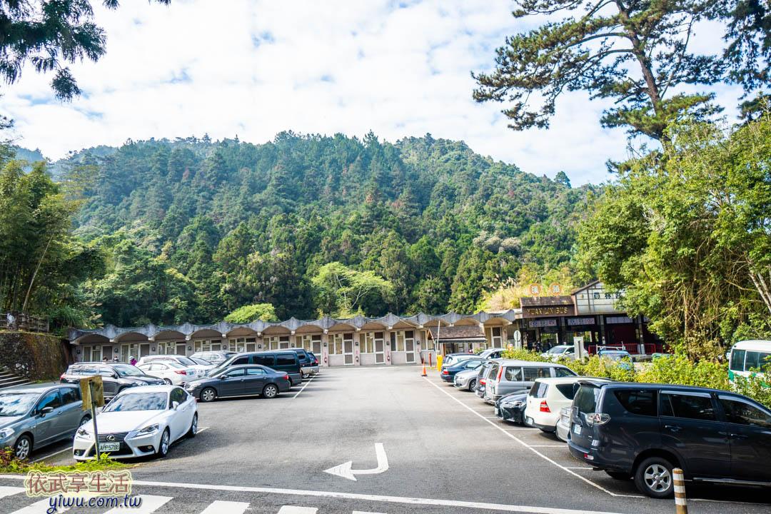 溪頭森林遊樂區停車