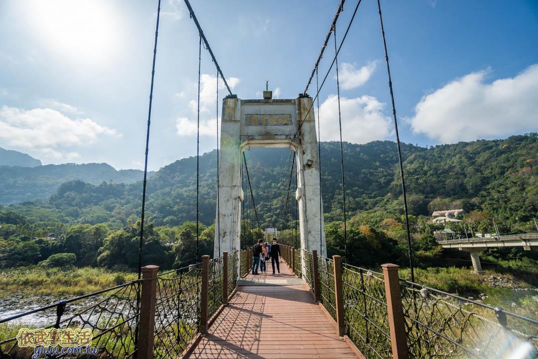 內灣老街內灣吊橋