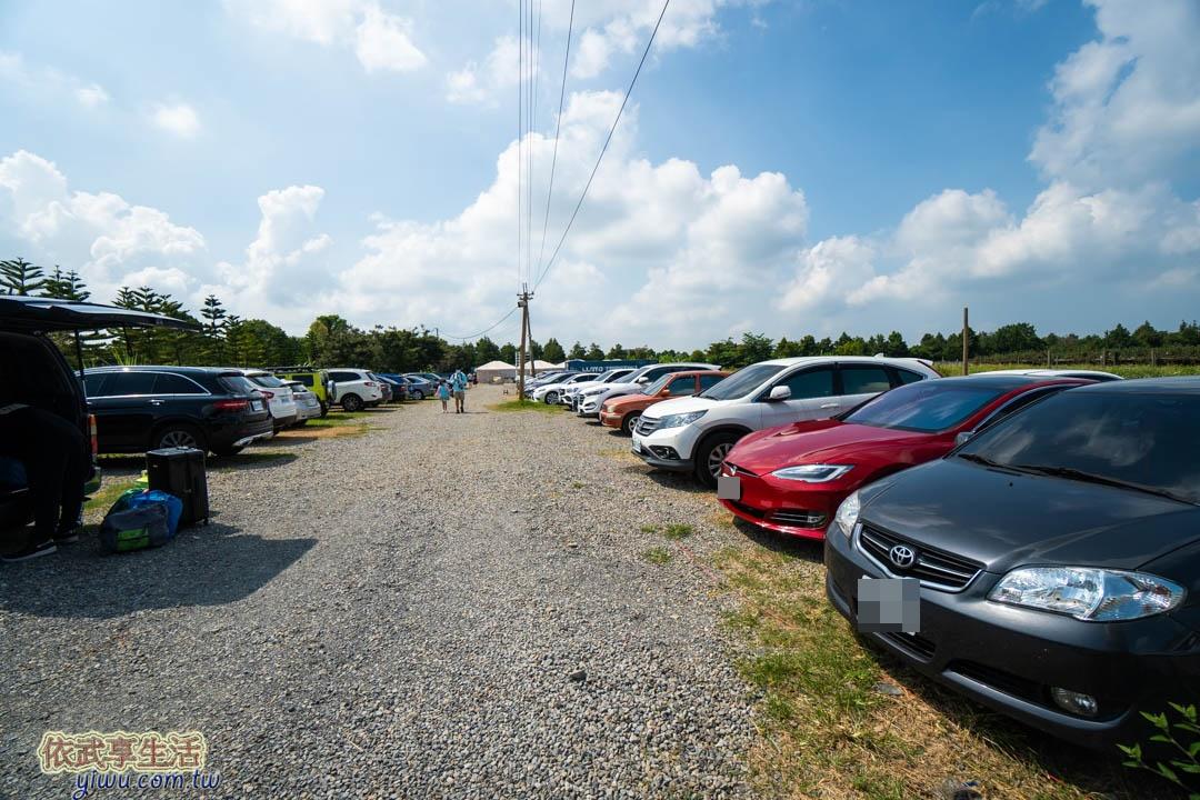 自然圈農場停車場