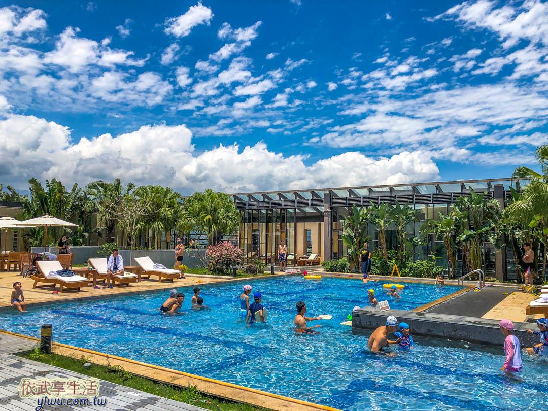 蘭城晶英游泳池