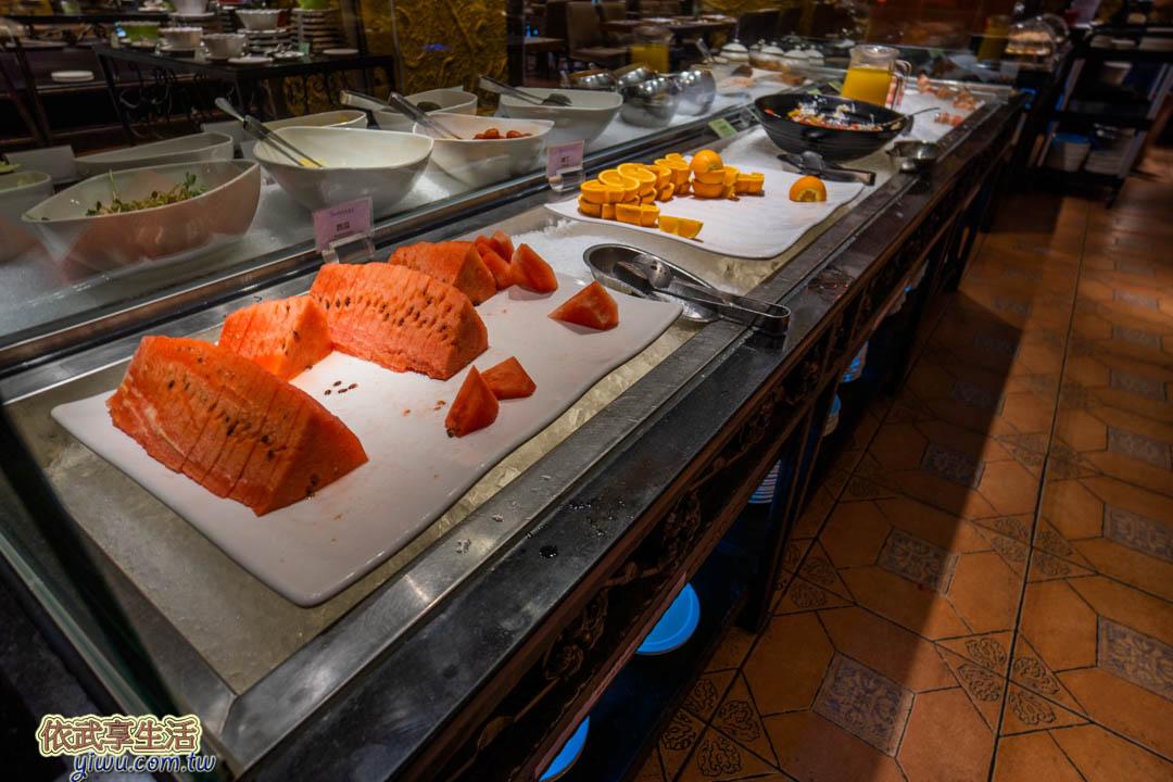 清新溫泉飯店早餐