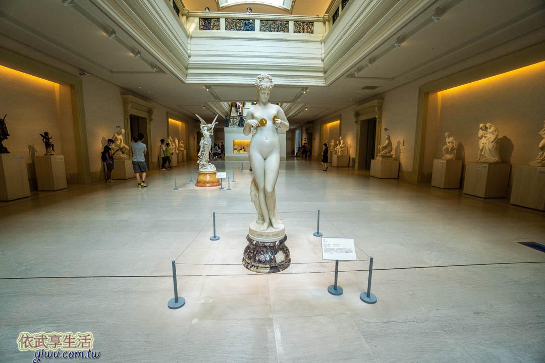 奇美博物館雕塑大道