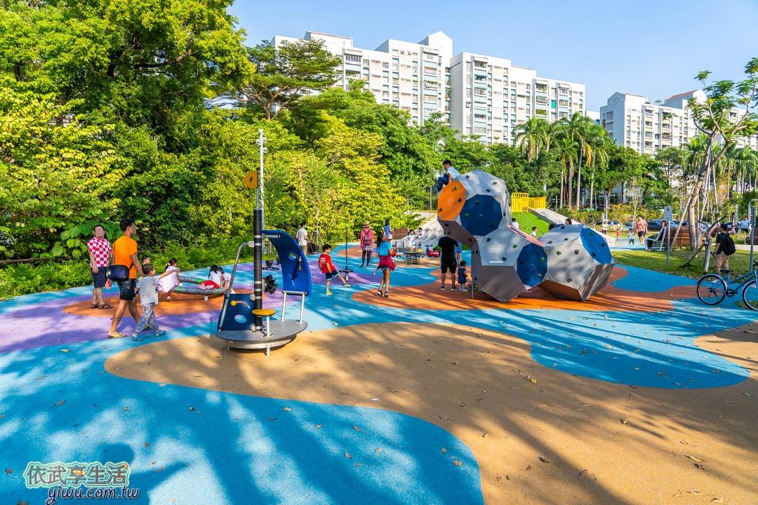竹溪水岸園區遊戲場