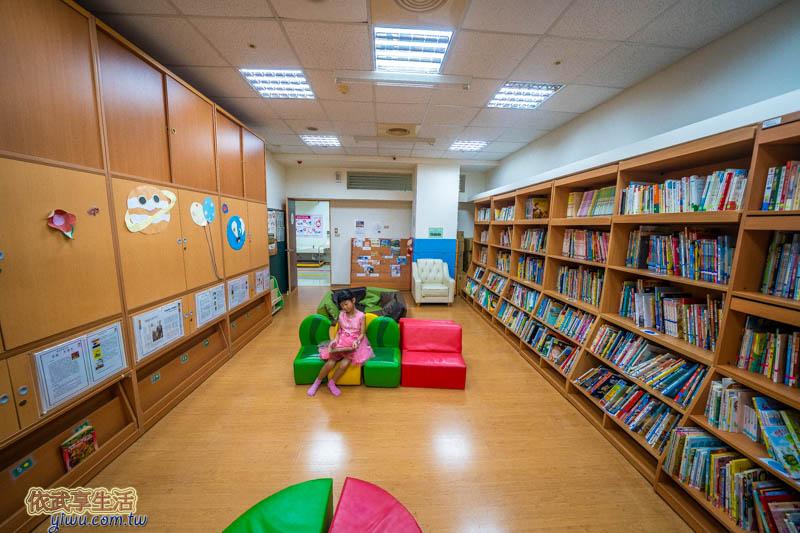 新竹市東區親子館閱覽室