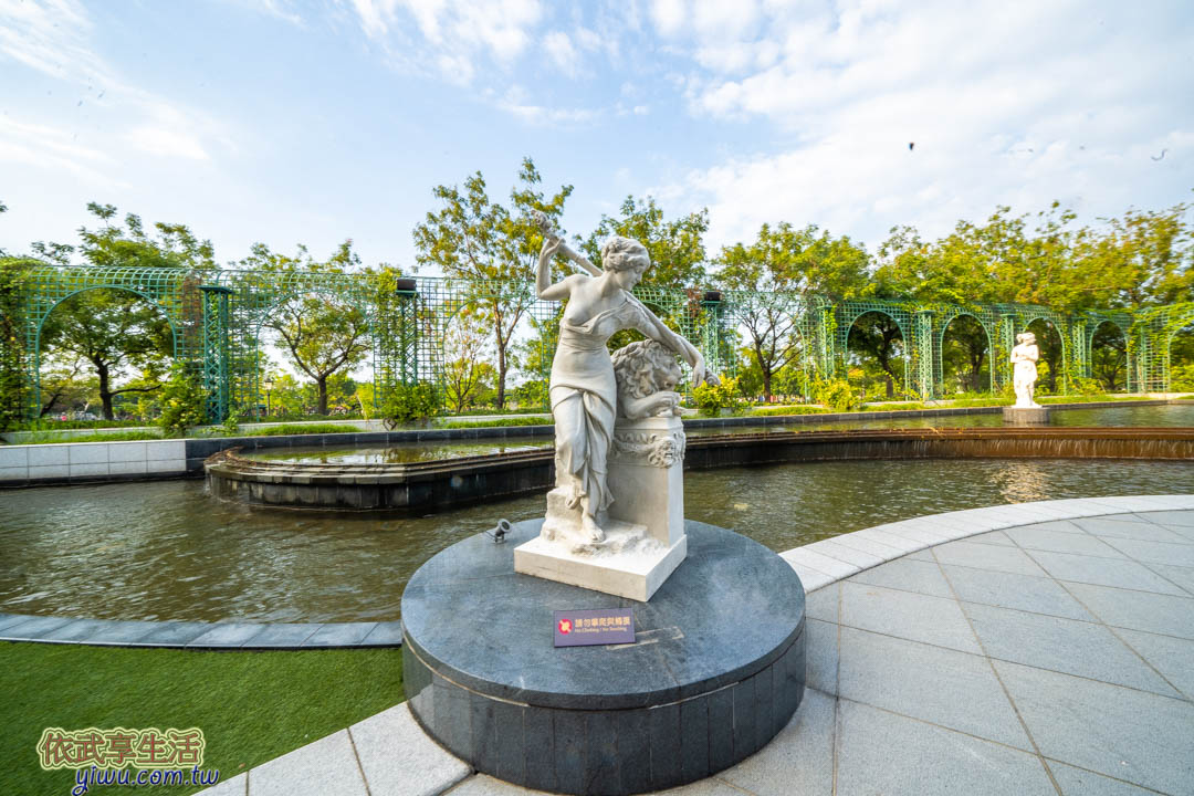 奇美博物館雕塑水景庭園
