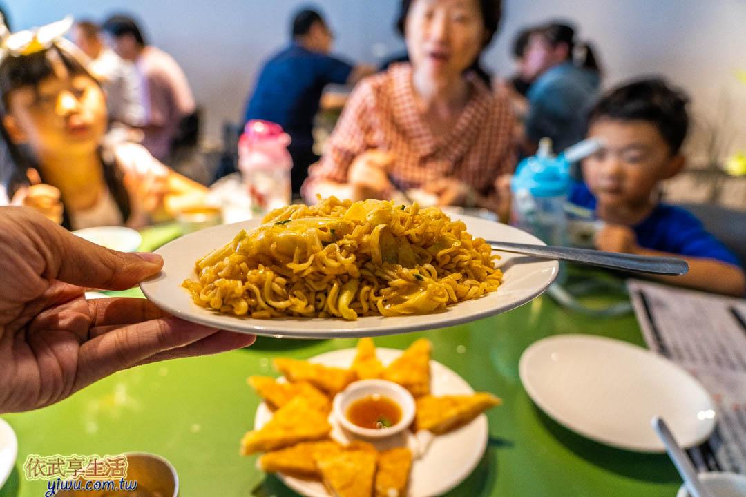 湄南小鎮菜色