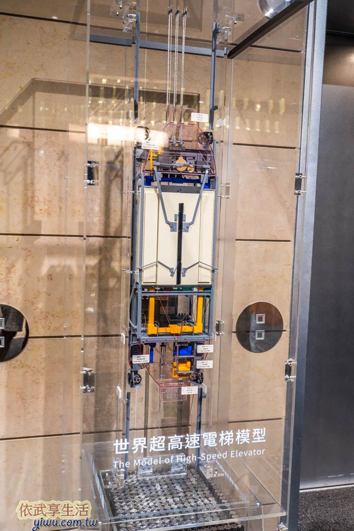101觀景台超高速電梯