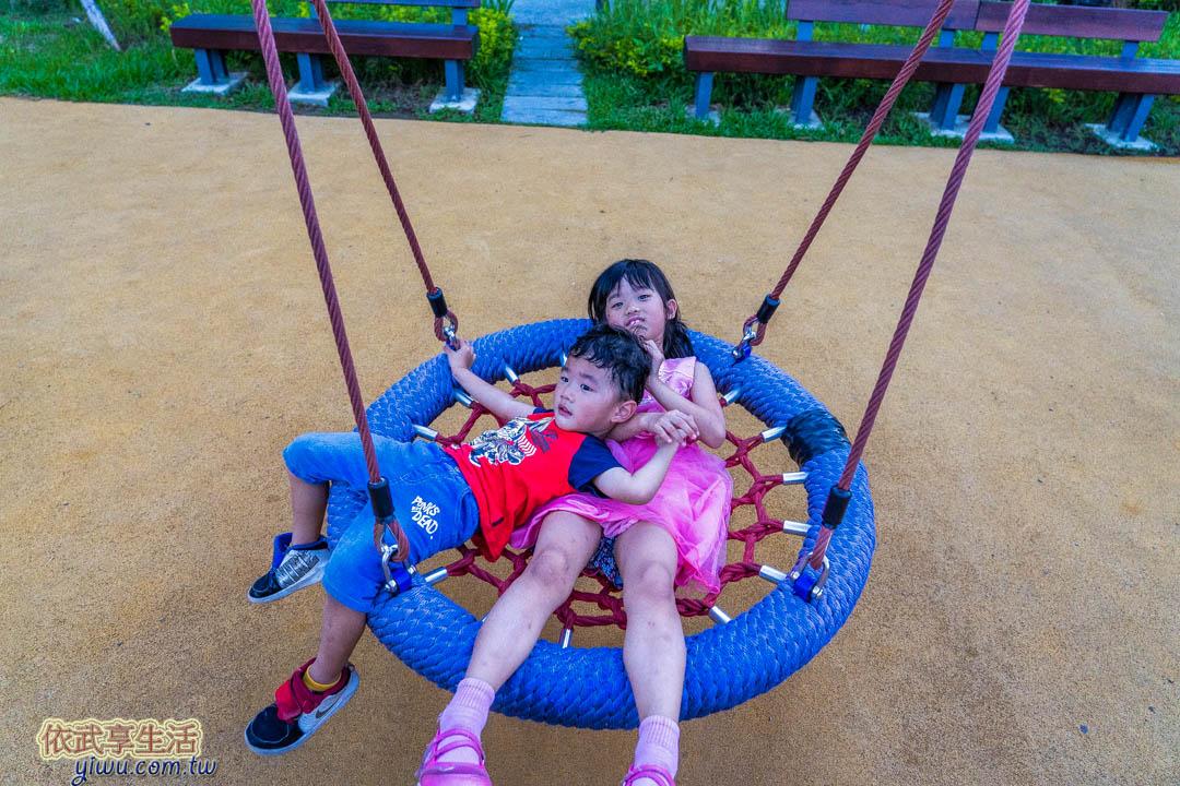 頂竹圍公園鞦韆