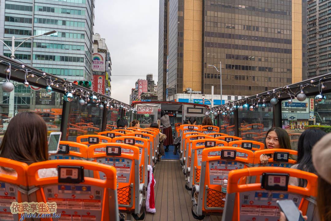 KKday耶誕雙層觀光巴士