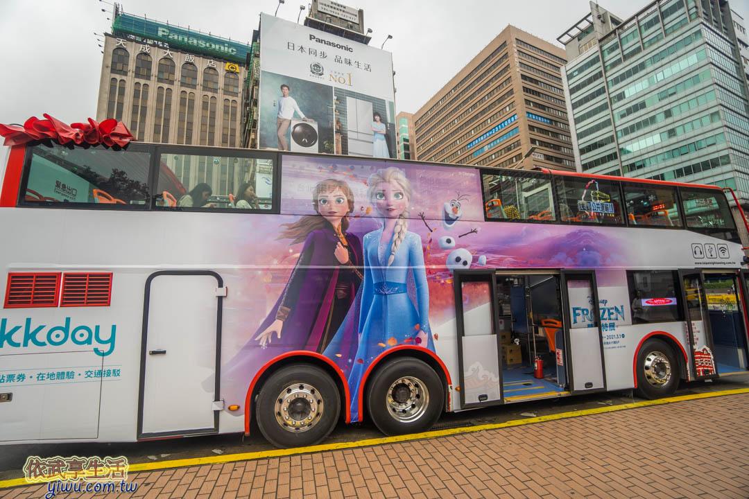 耶誕雙層觀光巴士