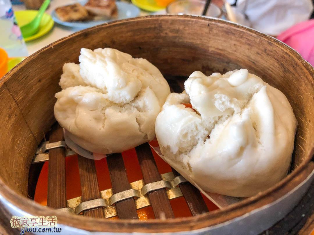 台南鑫華茶餐廳叉燒包