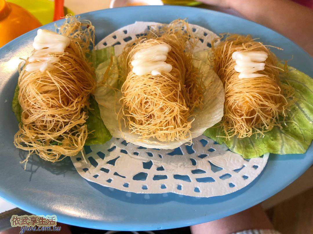 台南鑫華茶餐廳龍鬚捲