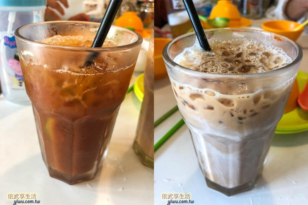 台南鑫華茶餐廳奶茶
